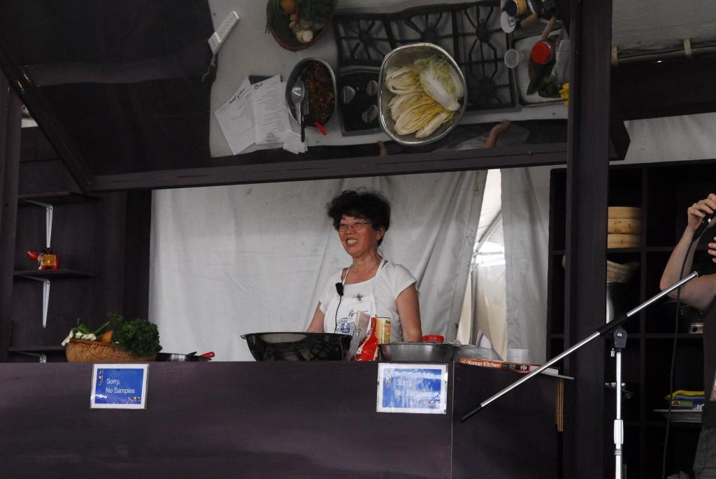 Kimchi Demonstration at Folk Life Festival