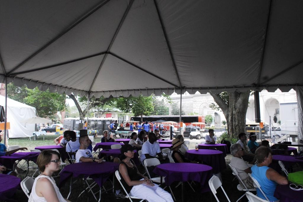 Smithsonian Food Demonstration Tent