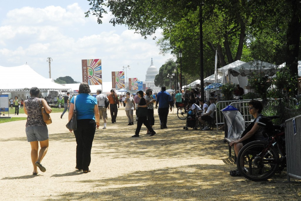 Smithsonian Folklife Festival on the National Mall