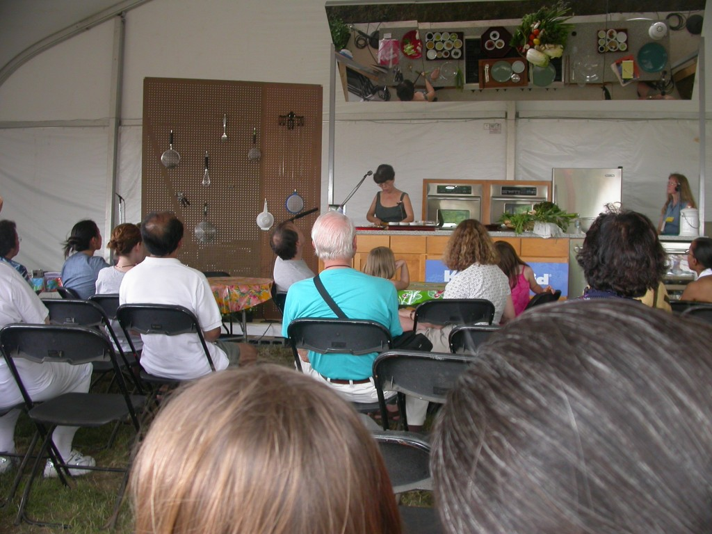 Korean Cooking Demonstration at the Smithsonian Folklife Festival